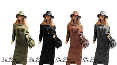 Long dress Knitwear