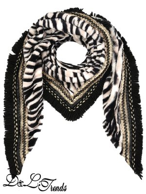 Luxe omslagdoek Zebra