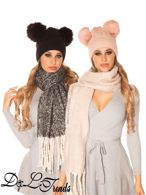 Koucla Soft touch sjaal
