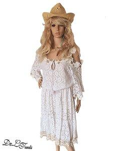 Cold shoulder dress Chantal